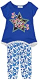 ToBeInStyle Girl's Love Star Girls' Legging Sets - Royal - 4