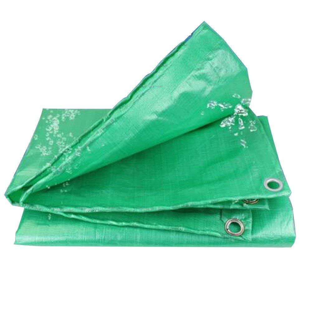 QINCH Regenfestes Tuch wasserdicht Plane, Wasserdichte Sonnencreme Farm Plant Sonnencreme Auto Staubschutz Hochtemperatur KorrosionsBesteändigkeit, grün (Farbe   Grün, Größe   2x2M) B07PGNBRBL Zeltplanen Luxus