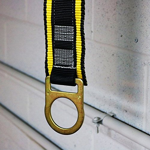 KwikSafety (Charlotte, NC) THUNDER KIT | 3D Full Body Safety Harness, 6' Lanyard, Tool Lanyard, 3' Cross Arm Strap Anchor ANSI OSHA PPE Fall Protection Arrest Restraint Construction Roofing Bucket by KwikSafety (Image #9)