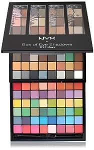 NYX Box of Eye Shadows, 112 Colors