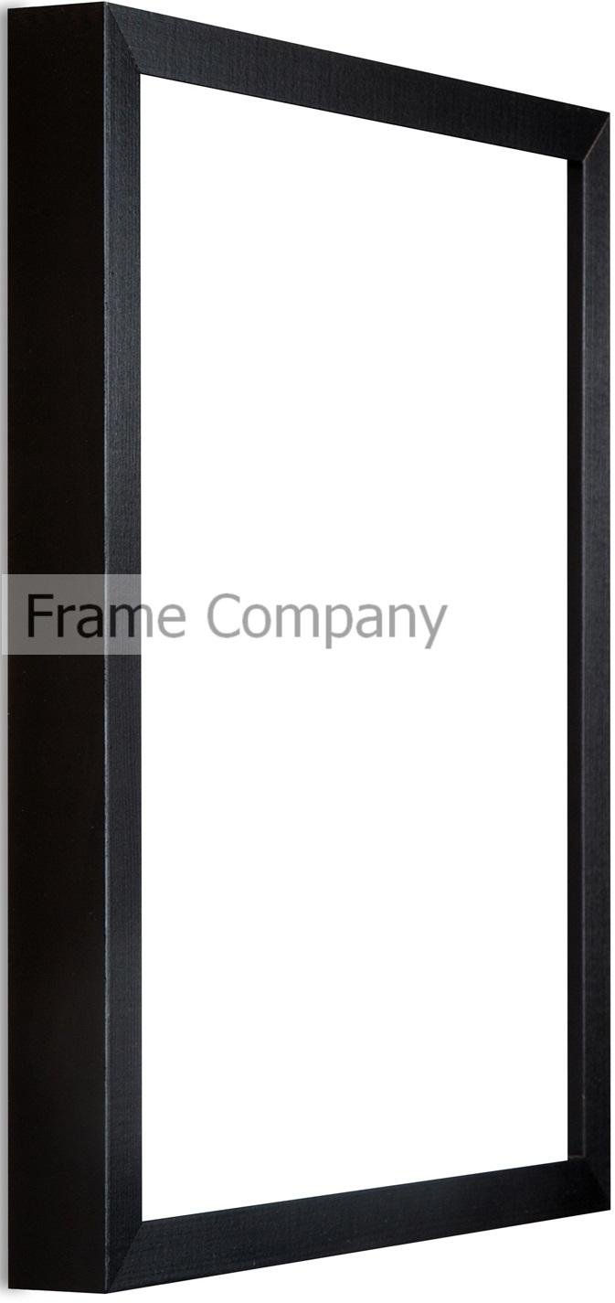 Frame Company 24 x 16-inch Wooden Picture Photo Frame, Black: Amazon ...