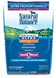 Natural Balance Small Breed Bites Dry Dog Food, Or...