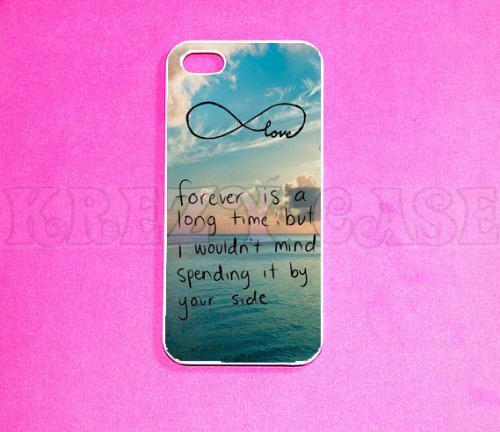 Cute forever love Iphone 5 Case - For Iphone 5, iPhone 5 cover