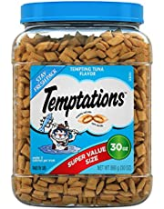 TEMPTATIONS Classic Crunchy and Soft Cat Treats, 30 oz.