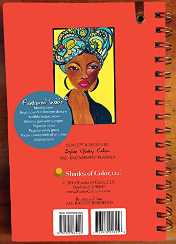 Shades of Color 5.38 by 8.38 Inches 2015 Weekly Inspirational Planner (IP02) Photo #3