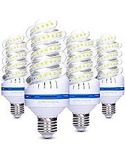 Lampadina LED E27 20 W (150 W Equivalen lampada LED), 360 Gradi Angolo del Fascio, Non Dimmerabile, 1700LM LED a Risparmio Energetico Mais Lampadina – Confezione da 4