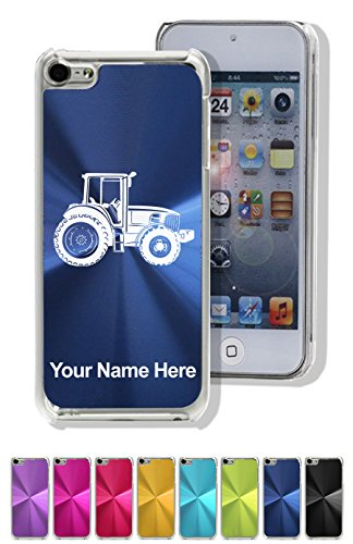 Case For Iphone 5C - Farm Tractor - Personalized Engraving Included