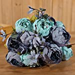 Luyue-Vintage-Artificial-Peony-Silk-Flowers-Bouquet-Home-Wedding-Decoration-New-Dark-Blue