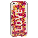 Agent18 iPhone 6 / iPhone 6S SlimShield - Clear/Flower Love - Retail Packaging