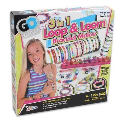 Rubber Band Bracelet Maker Kit Set for Kids / Girls with ...