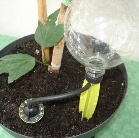 Iriso. 4 Soportes de riego por goteo: Amazon.es: Jardín