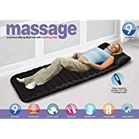 Drake Velvet Bed Mattress Body Massager with 9 Motor Vibrator & 9 Soothing Heat