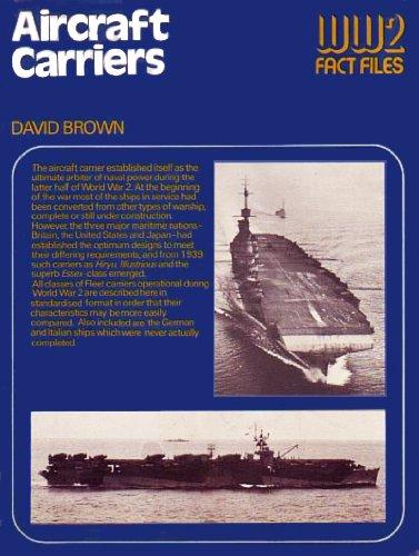 Aircraft carriers (World War 2 fact files)
