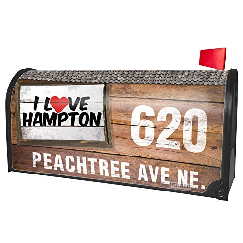 NEONBLOND Custom Mailbox Cover I Love Hampton