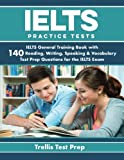 The IELTS practice workbook by Trellis Test Prep is the most comprehensive practice workbook available for students. With 140 in-depth practice questions, your knowledge and preparedness will greatly improve as you work through the practice q...