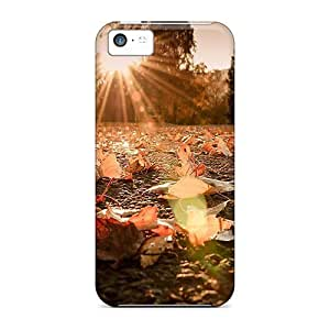 Fashion Protective Autumn Sunshine Cases Covers For Iphone 5c