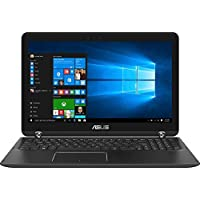 Asus 2-in-1 15.6' Touch-Screen FHD Laptop, Intel Core i7-7500U, 12GB DDR4 RAM, NVIDIA GeForce 940MX 2GB, 2TB HDD, Bluetooth, HDMI, Backlit keyboard, HD Webcam, Win10- Sandblasted black aluminum