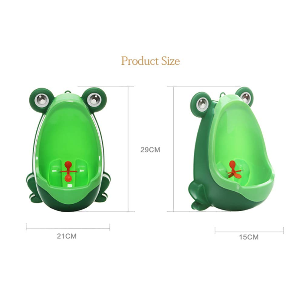 1PC Blue Baby Potty Toilet Training for Children Stand Vertical Urinal with Frog Style Boy Wall-Mounted