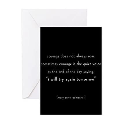 Amazon cafepress journal courage greeting cards greeting cafepress journal courage greeting cards greeting card 10 pack note m4hsunfo
