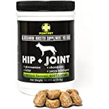 Glucosamine Chondroitin for Dogs ● Point Pet Glucosamine Booster Supplements for Dogs ● Dog Supplements for Joints and Hip (120 Soft Chews)