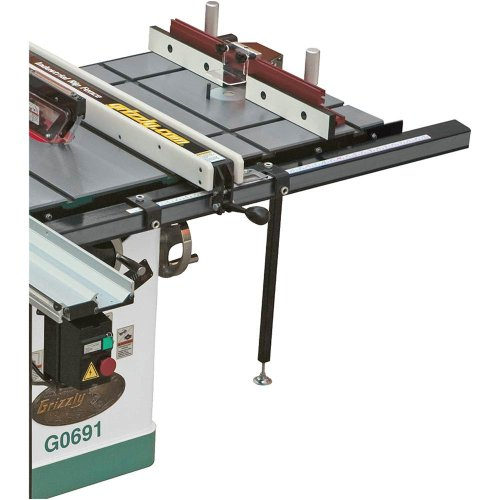 Grizzly Cabinet Saw (Grizzly T10222 Router Extension for Table Saw)