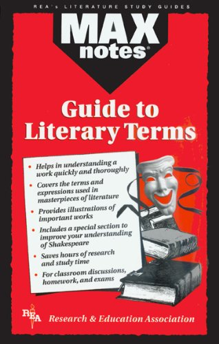 Guide to Literary Terms, The  (MAXNotes Literature Guides)