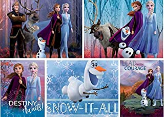product image for Ceaco Disney Frozen II 5 in 1 Multipack Jigsaw Puzzles, (2) 300 Pieces, (2) 500 Pieces, (1) 750 Pieces