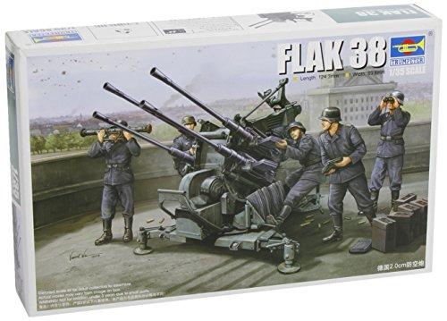 Trumpeter 1/35 German 2cm Flak 38 Gun Model Kit