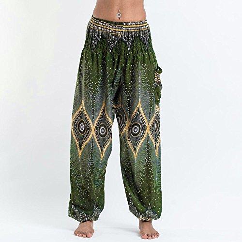 Vert Pilates Poche De Fitness Sports Gusspower Yoga Leggings Pantalon Impression Femmes Lampe qFEnUwq5