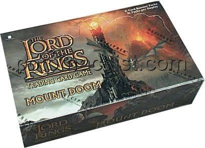 Lord of the Rings Mount Doom TCG Booster Box by (Lords Booster Box)