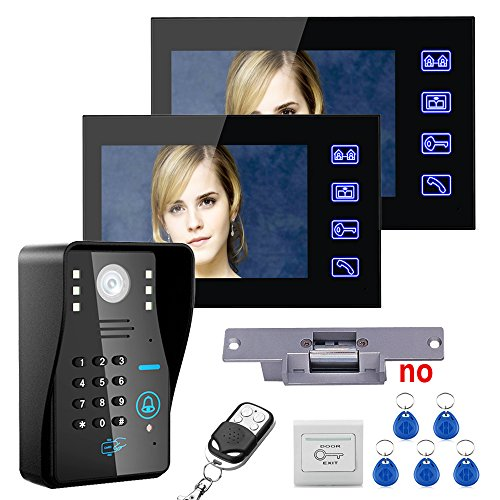 Door Security Phone Intercom System (MOUNTAINONE Touch Key 7