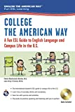 img - for College the American Way: A Fun ESL Guide to English Language & Campus Life in the U.S. (Book + Audio) (English as a Second Language Series) book / textbook / text book
