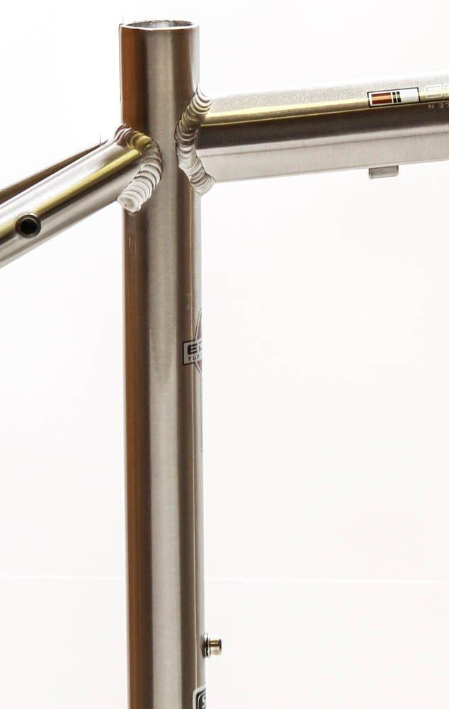 15.5'' MARIN SAN ANSELMO Hybrid City 700c Bike Frame Silver Alloy V-Brake NOS NEW by Marin (Image #3)