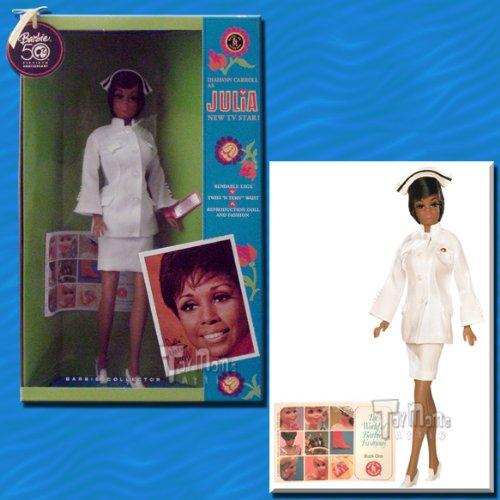 Mattel 50th Anniversary Barbie Diahann Carrol as Julia 11'' Doll by Barbie