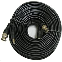 CIB 150 Feet BNC Video Cable w/ Power Wire for CCTV Security Cameras and 1080P/720P Camera SDI, TVI, CVI and AHD