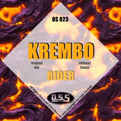 I Am Rider Song Mp3: Rider (Original Mix) By Krembo On Amazon Music