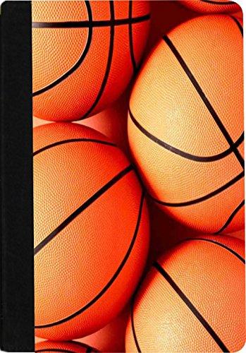 Rikki Knight RK-notebook Basketball Design Faux Suede Bin...