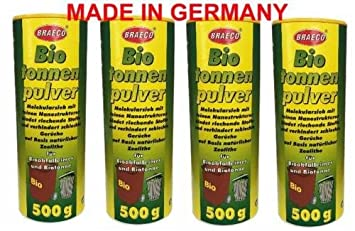 4 x breaco biotonne por 500 g de polvo Killer/biokom Póster/Compost polvo