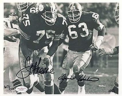 ba245076a1f Image Unavailable. Image not available for. Color  Joe Greene Ernie Holmes Autographed  Signed Memorabilia Pittsburgh Steelers ...