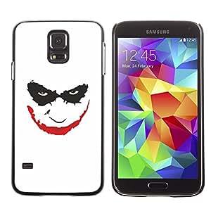 Be Good Phone Accessory // Dura Cáscara cubierta Protectora Caso Carcasa Funda de Protección para Samsung Galaxy S5 SM-G900 // Smiling Joker