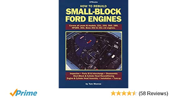 How to Rebuild Small-Block Ford Engines: Tom Monroe: 0075478568918  W Fuel Injected Engine Diagram on 1993 351w diagram, 302 firing order diagram, 1990 f350 5.8l vacuum diagram,