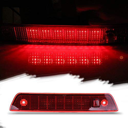ROADFAR Third Brake Light LED 3rd Brake Light Rear Tail Brake Light Cargo Lamp Waterproof Smoke Lens Chrome Housing High Mount Brake Light Replacement fit 2005-2010 Jeep Grand Cherokee 55157397AD