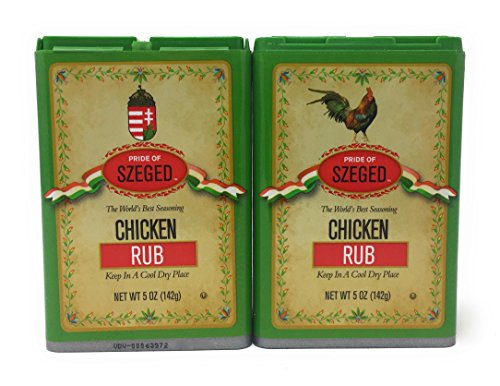 Szeged -Chicken Rub / Gourmet Rub / 2 -5 Oz. - Chicken Rub Spice
