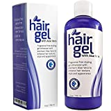 Healthy Hair Gel for Curly Hair with Aloe Vera - Natural Hair Care for Women and Men - Best Moisturizing Hair Texturizer for Dry Hair - Volumizing Beachy Waves - Sexy Bed Head - Beautiful Sleek Style