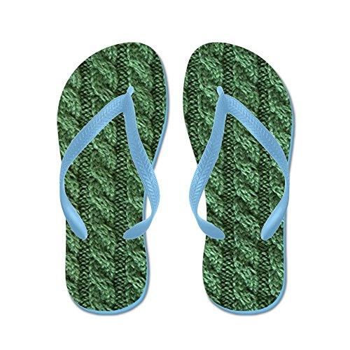 Infradito In Tessuto - Infradito, Sandali Infradito Divertenti, Sandali Da Spiaggia Blu Caraibico