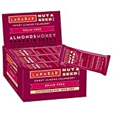 Larabar Crunchy Nut & Seed Gluten Free Bar, Honey Almond Cranberry  with Sprouted Chia Seeds, 1.24 oz Bars (15 Count)