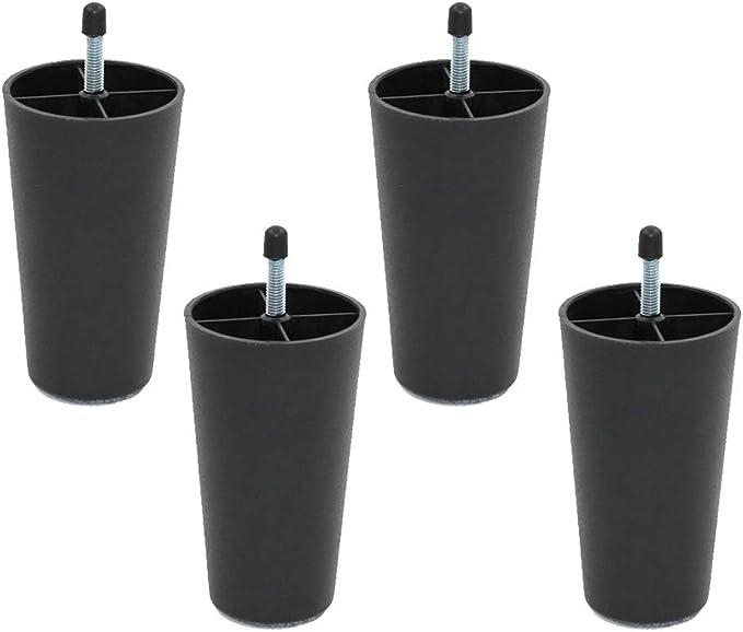 4 Patas de plástico para Muebles, Patas de Repuesto para ...