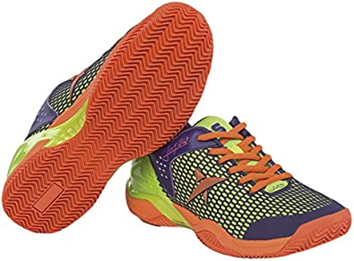 Drop Shot Wizard JMD - Zapatillas Deportivas para Hombre, Color Naranja/Morado, Talla 40: Amazon.es: Zapatos y complementos