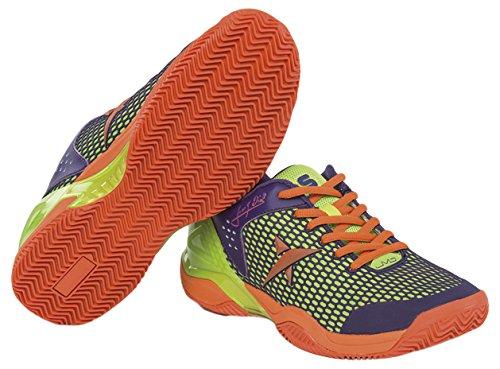 Drop Shot Wizard JMD - Zapatillas Deportivas para Hombre, Color Naranja/Morado, Talla 42: Amazon.es: Zapatos y complementos