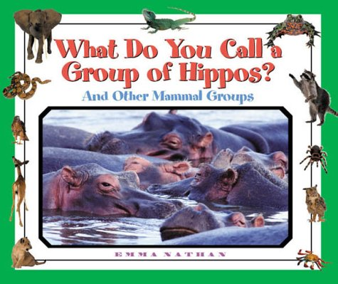 What Do You Call a Group Of - Hippos? And Other Mammal Groups by Brand: Blackbirch Press